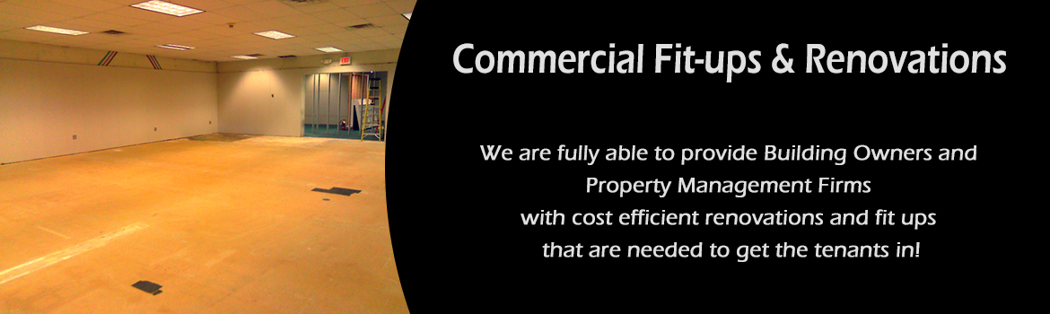 Salem, Windham, Pelham NH MA Commercial Fit-ups and Renovations